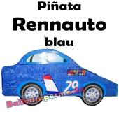 Pinata Rennauto, blau