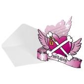 Pirate Girl Einladungskarten zum Kindergeburtstag