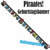 Pirates Geburtstagsgirlande zum Kindergeburstag