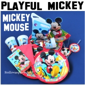 Micky Maus Kindergeburtstag Party Set