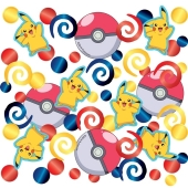 Pokemon Konfetti zum Kindergeburtstag, 14 Gramm