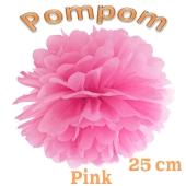 Pompom Pink, 25 cm