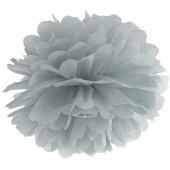 Pompom Grau, 25 cm