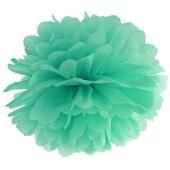 Pompom Mintgrün, Deko Hochzeit