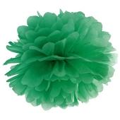 Pompom Smaragdgruen, Deko Hochzeit