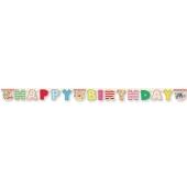 Winnie the Pooh Geburtstagsbanner zum Kindergeburstag