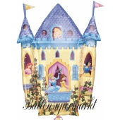 Princess Castle Großer Luftballon aus Folie