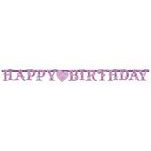 Princess Geburtstagsbanner zum Kindergeburstag