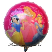 Princess Group Rundluftballon aus Folie