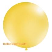 Großer Rund-Luftballon, Gold-Metallic, 100 cm