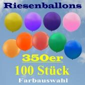 Riesenballons 350er, 100 Stück