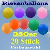 Riesenballons 350er, 20 Stück