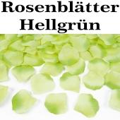 Rosenblaetter Hellgrün 100 Stueck