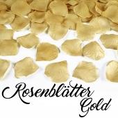 Rosenblätter Gold