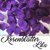 Rosenblätter Lila