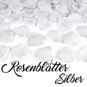 Rosenblätter Silber
