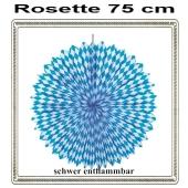 Rosette Bayrische Wochen Dekoration, 75 cm, schwer entflammbar
