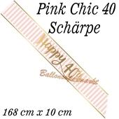 Schärpe Pink Chic 40