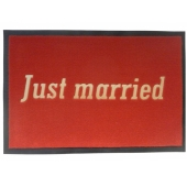 Fussmatte Just Married zur Hochzeit