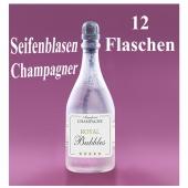 Seifenblasen Hochzeit, Wedding Bubbles Champagner, 12 Stück