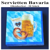 Servietten Bavaria, Oktoberfest, 20 Stück