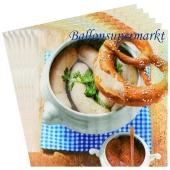 Oktoberfest - Bayrische Wochen- Servietten, Brotzeit