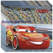 Party-Servietten, Cars 3, Papierservietten