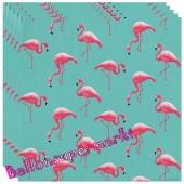 Servietten Flamingo Paradise
