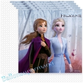 Party-Servietten Frozen 2, 20 Stück