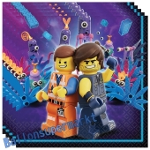 Party-Servietten LEGO Movie 2 zum Kindergeburtstag