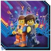 Party-Servietten LEGO Movie 2 zum Kindergeburtstag