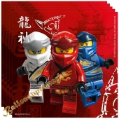 Party-Servietten LEGO Ninjago, 20 Stück