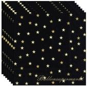 Servietten kleine Sterne