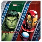 Avengers Servietten zum Kindergeburtstag