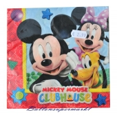 Servietten Kindergeburtstag, Mickey Mouse Club House