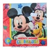 Servietten Kindergeburtstag, Mickey Mouse Club House