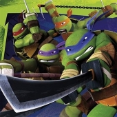 Party-Servietten, Ninja Turtles, Papierservietten