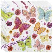 Servietten Schmetterlinge