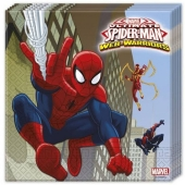 Party-Servietten Spider-Man Web Warriors zum Kindergeburtstag