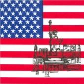 Servietten United States of Amerika, Partydekoration USA
