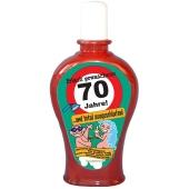 Shampoo Frisch gewaschene 70 Jahre zum 70. Geburtstag