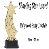 Trophäe Shooting Star Award, Hollywood Partydeko