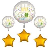 silvesterdeko-ballon-bouquet-guten-rutsch-mit-goldenen-sternballons