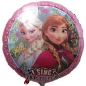 Singender Luftballon, Frozen ohne Helium