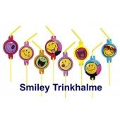 Smiley Trinkhalme