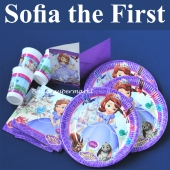 Sofia the first, Kindergeburtstag Party Set