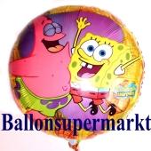 Spongebob und Patrick Luftballon aus Folie inklusive Helium