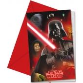 Star Wars Heroes Einladungskarten zum Kindergeburtstag