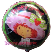 Strawberry Shortcake Luftballon aus Folie inklusive Helium
