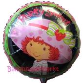 Strawberry Shortcake Folienluftballon, ungefüllt